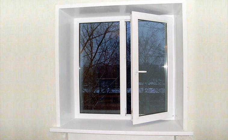 Купить двухстворчатые окна в Перми