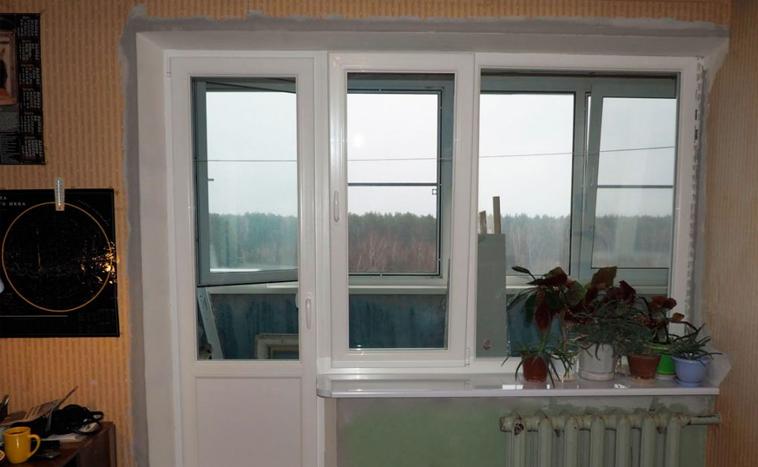 Купить балконный блок в Перми