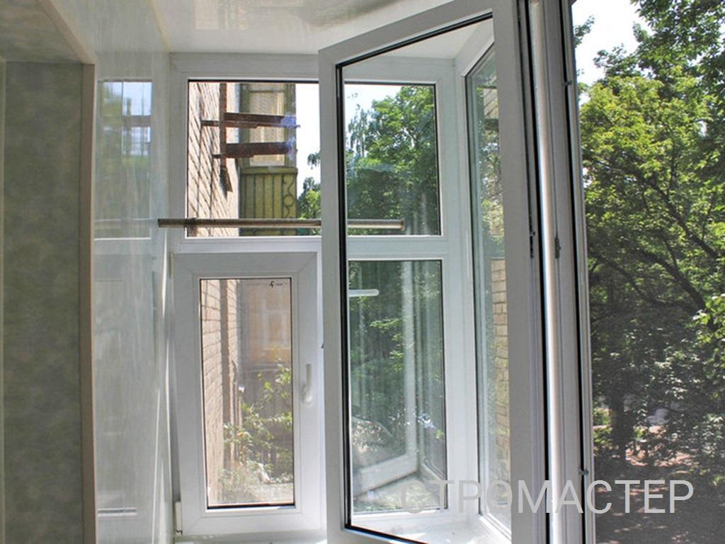 Теплое остекление балкона в Перми