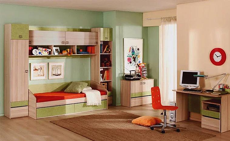 Корпусная мебель для детской на заказ в Перми