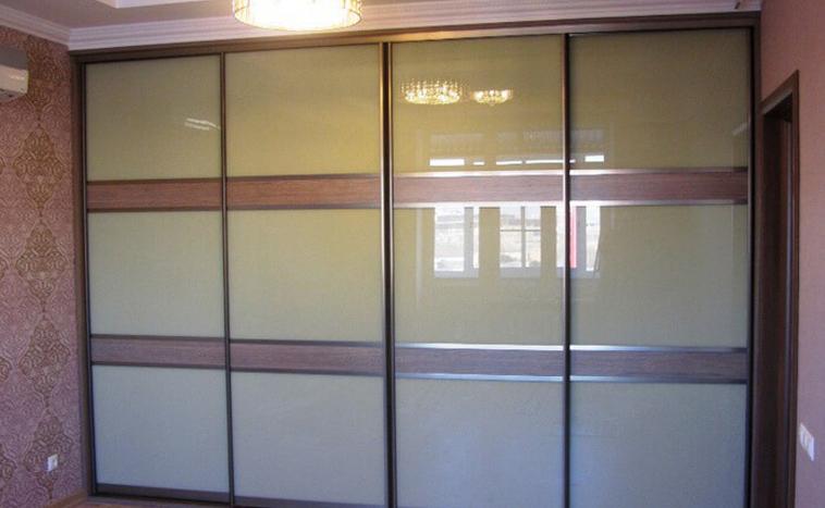 Двери из стекла Lacobel для шкафов купе в Перми