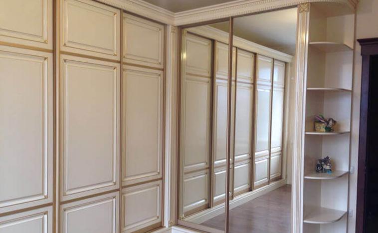 Двери из МДФ для шкафов купе в Перми