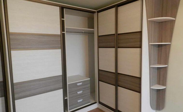 Нестандартные решения дверей для шкафов купе под заказ в Перми