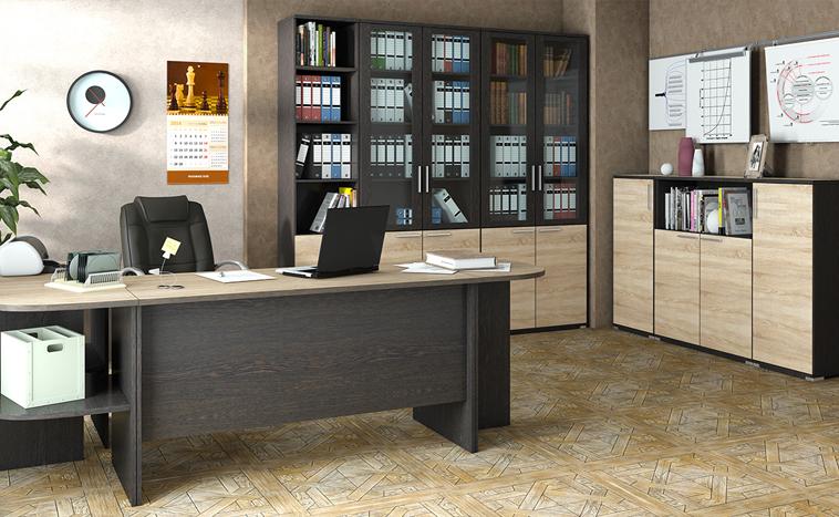 Корпусная мебель для офиса на заказ в Перми
