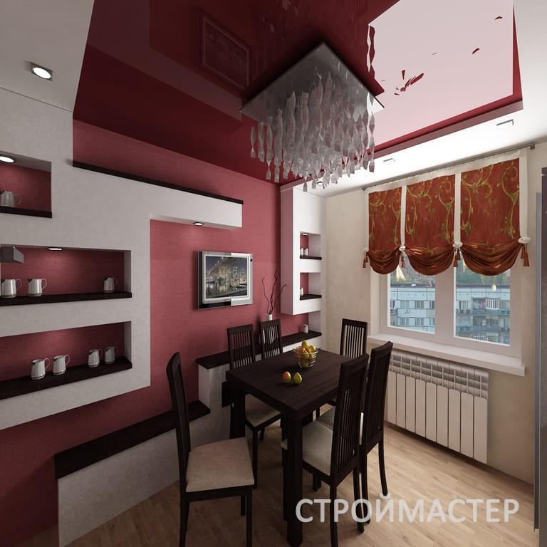 Двухуровневые натяжные потолки Пермь